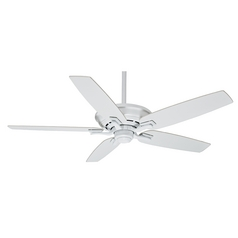 Casablanca Fan Academy Snow White Ceiling Fan Without Light