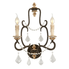 Sconce Wall Light in Parisian Bronze Finish