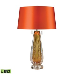 Dimond Lighting Amber LED Table Lamp with Empire Shade