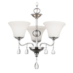 Sea Gull Lighting West Town Chrome Mini-Chandelier