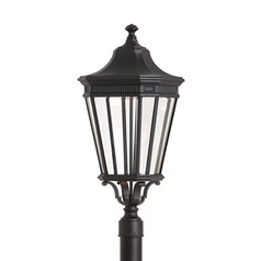 Feiss Lighting Cotswold Lane Black LED Post Light