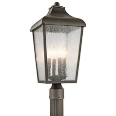 Kichler Lighting Forestdale Olde Bronze Post Light