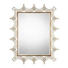 Uttermost Kiowa Gold Mirror