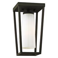 Troy Lighting Mission Beach Textured Black Close To Ceiling Light