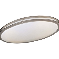Minka Lighting 28-3/4-Inch Oval Flushmount Ceiling Light 863-84-PL