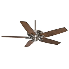 Casablanca Fan Academy Brushed Nickel Ceiling Fan Without Light
