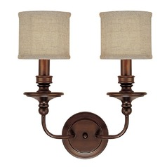 Capital Lighting Midtown Burnished Bronze Sconce