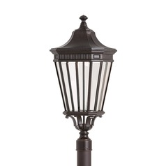 Feiss Lighting Cotswold Lane Grecian Bronze LED Post Light