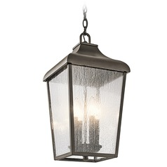 Kichler Lighting Forestdale Olde Bronze Outdoor Hanging Light