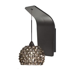 WAC Lighting Gia Rubbed Bronze LED Sconce