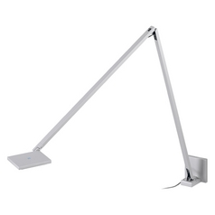 Sonneman Lighting Quattro Bright Satin Aluminum LED Swing Arm Lamp