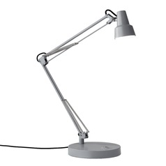 Adesso Home Quest Grey LED Task / Reading Lamp