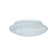 Flushmount Light Marble Glass by Besa Lighting