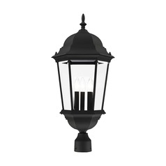 Livex Lighting Hamilton Black Post Light