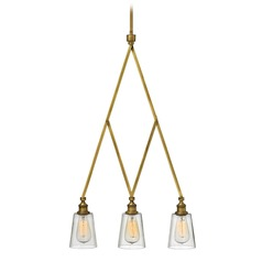 Hinkley Lighting Gatsby Heritage Brass Chandelier