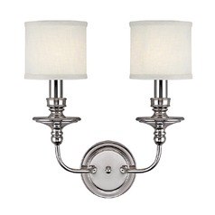 Capital Lighting Midtown Polished Nickel Sconce