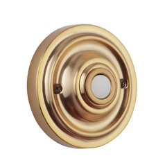 Craftmade Lighting Designer Satin Brass Doorbell Button