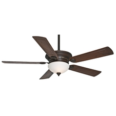 Casablanca Fan Whitman Brushed Cocoa Ceiling Fan with Light