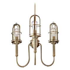 Chandelier in Dark Antique Brass Finish