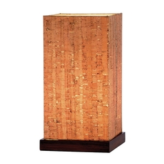 Adesso Home Lighting Sedona Walnut Table Lamp
