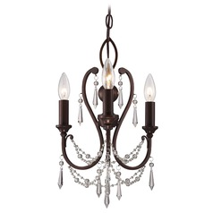 Minka Mini Chandeliers Vintage Bronze Mini-Chandelier