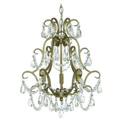 Craftmade Lighting Gold Twilight Mini-Chandelier