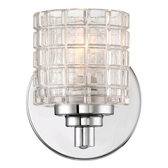Nuvo Lighting Votive Polished Nickel Sconce