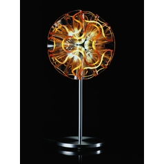 Qisdesign Lighting Orange Coral Inspired LED Accent Lamp SWCR01-DR45-OR