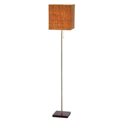 Adesso Home Lighting Sedona Walnut Floor Lamp