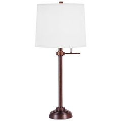 Design Classics Lighting Modern Table Lamp with Shade 6550-20/SH7210 KIT