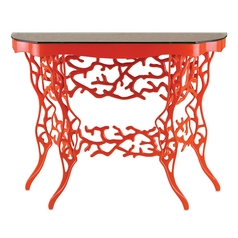 Currey and Company Lighting Red Accent Table