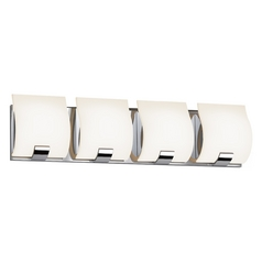 Sonneman Lighting Aquo Polished Chrome LED Bathroom Light