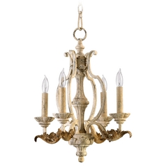 Quorum Lighting Florence Persian White Mini-Chandelier