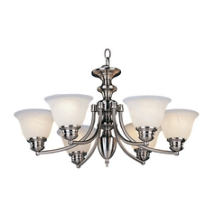 Maxim Lighting Malibu Satin Nickel Chandelier