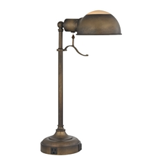 Desk Lamp in Remington Bronze Finish