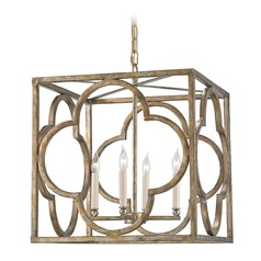 Currey and Company Lighting Cosette Peppercorn Gold Pendant Light