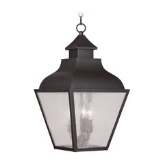 Livex Lighting Vernon Bronze Outdoor Hanging Light