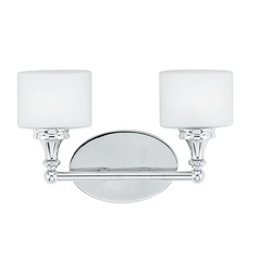 Quoizel Lighting Quinton Polished Chrome Bathroom Light