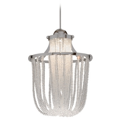 Wac Lighting Crystal Collection Brushed Nickel Mini-Pendant