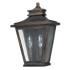 Capital Lighting Gentry Old Bronze Outdoor Wall Light