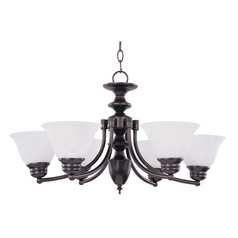 Maxim Lighting Malibu Oil Rubbed Bronze Chandelier