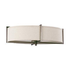 Modern Flushmount Lights in Hazel Bronze Finish