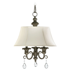 Quorum Lighting Fulton Classic Bronze Mini-Chandelier