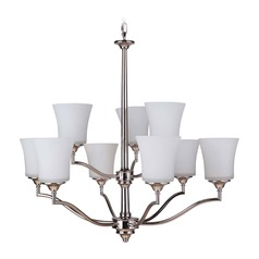 Craftmade Lighting Helena Polished Nickel Chandelier