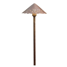 Kichler Lighting Landscape LED Textured Tannery Bronze LED Path Light