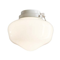 Minka Aire Fans Light Kit with White in White Finish K9402-L-44