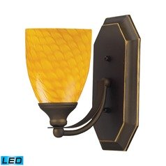Elk Lighting Bath and Spa Aged Bronze LED Sconce