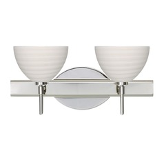 Besa Lighting Brella Chrome LED Bathroom Light