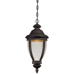 Minka Lighting Wynterfield Burnt Rust LED Outdoor Hanging Light