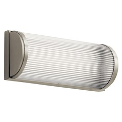Elan Lighting Filter Brushed Nickel LED Sconce